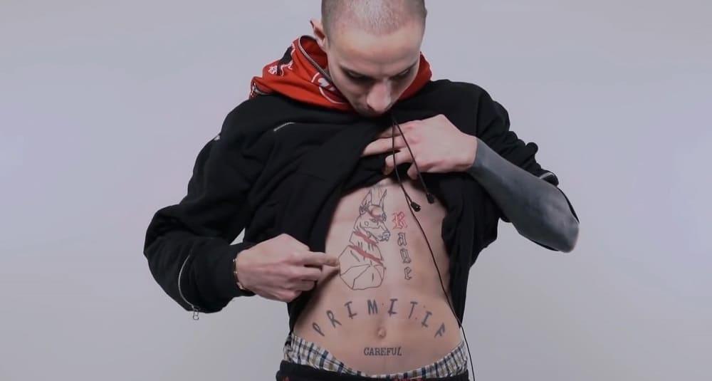 tatouages rappeur