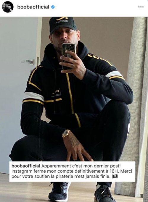 dernier post instagram